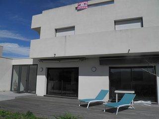 Villa de 130m² avec une terrasse sur le toit de 80m²