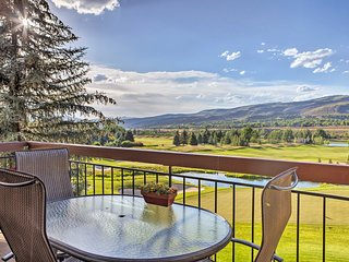 Luxe Beaver Creek Condo w/Views & Pool Access!