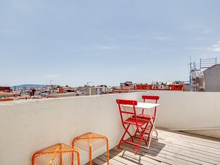 New 1bed with terrace close to Vallcarca metro