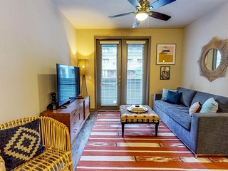NEW LISTING! Modern apartment w/ a shared pool & fitness room -right in downtown