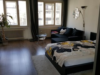 Spacious apartment in the center of Hanover with Parking, Internet