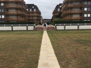 Triangle d'or Deauville - Plage en face de la Residence