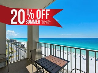 20% OFF Summer! GULF VIEW Updated Beach Condo * Resort Pool/Spa + FREE Perks!