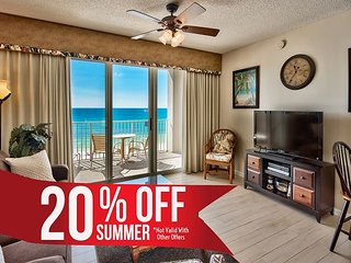20% OFF Summer! Updated GULF VIEW Condo *Resort Pool/Spa Gym + FREE VIP Perks