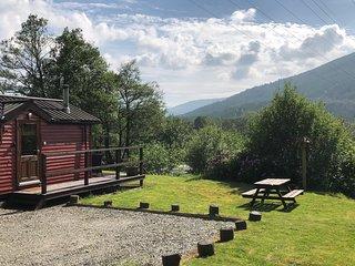 HAWTHORN LODGE | Luxury Riverside Lodge near Pucks Glen Dunoon Argyll