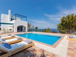 Villa Sun in Kalathas with amazing sea view!