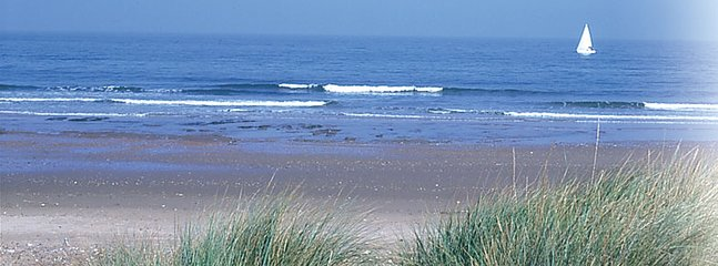 a choice of local sandy beaches