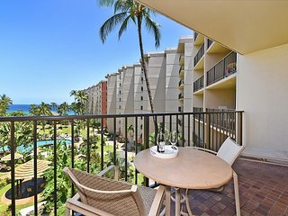Kaanapali Shores 527- Family Fun Resort- Spacious 2/2 Beautiful Ocean Views