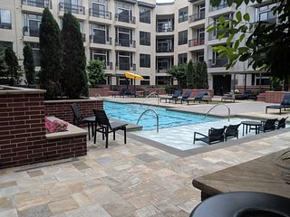 Upscale spacious apartment downtown Houston - All amenities including pool/gym