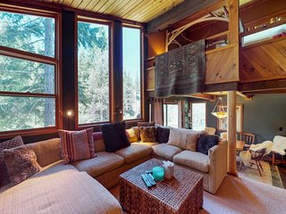 NEW LISTING! Unique home w/river in backyard, private sauna, near Alpine Meadows