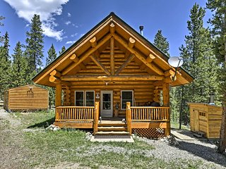 Secluded Cabin w/ Sauna & Grill Near Breckenridge!
