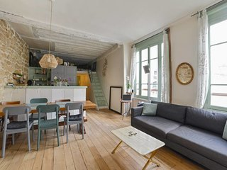 Beautiful flat for 4-6p near Place des Vosges