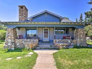 NEW! Custer Home w/Deck & Porch - Walk Downtown!