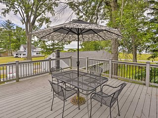 NEW! Verona Beach Home w/ Deck - Walk to Lake!