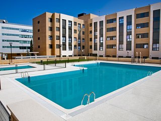 Apartment in Madrid with Internet, Pool, Air conditioning, Lift (1002561)
