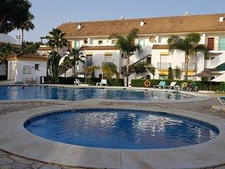 A lovely 2 bed 2 bath Grd Flr Apt at Fairways Carib Playa Marbella Near Cabopino