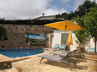 St Paul de Vence: Chantelle luxury villa on the French Riviera, swimming pool