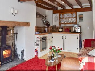 The wonderful log burner for cosy nights in.