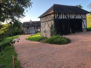 Magnifique maison a colombages proche Deauville