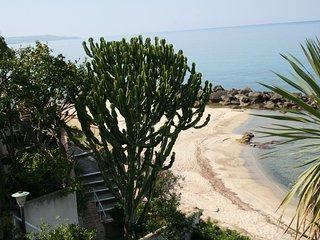 Spiaggia vista dal terrazzo