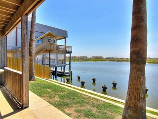 NEW LISTING! Waterfront condo w/shared pool & dock only moments from the beach