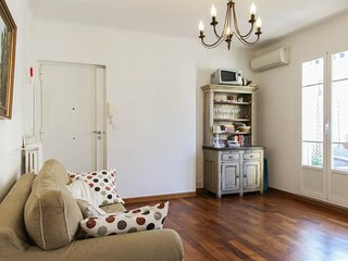 Spacious apartment very close to the centre of Nice with Lift, Internet, Washing