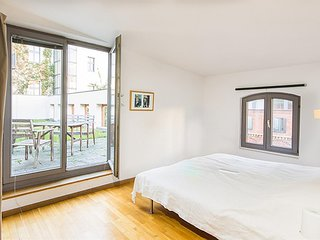 Apartment 463 m from the center of Berlin with Internet, Terrace (379719)