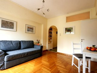 Apartment 699 m from the center of Athens with Internet, Air conditioning, Lift,