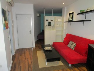 Cosy studio in the center of Madrid with Internet, Washing machine, Air conditio