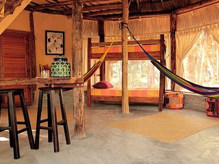 MELI-MELO - JUNGLE HOUSE & TOWER, MINUTES FROM TULUM BEACH