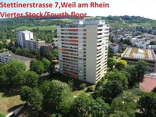 Apartement voor 6 personen dichtbij Basel