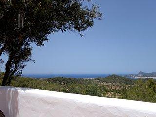 FINCA with PANORAMA VISTA of Sea and Sant Antoni Bay - San Agustin / San Joshep