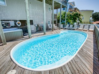 Sand Dollar | 233 ft from the beach | Private Pool, Hot Tub | Corolla