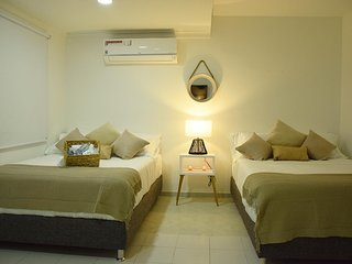 Cozy bedroom in beautiful place in Cartagena