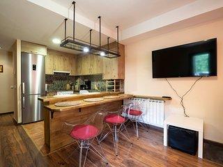 Apartamento Mincholet, bajo con gran terraza y barbacoa