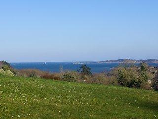 Maison Bretonne sur site naturel classé avec vue sur mer