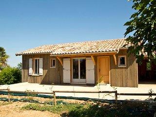 Gîte de tourisme maison ossature et bardage bois