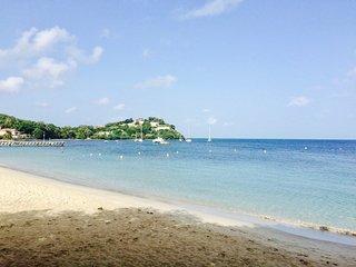 Cosy studio 'Corail', pied dans l'eau a l'Anse-Mitan les Trois-Ilets