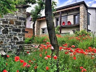 Casa in campagna indipendente 3camere 3bagni tra colli Piacentini con giardino