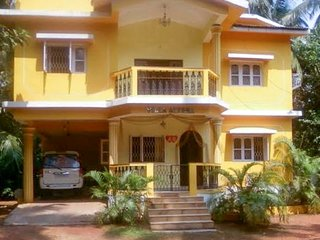 Commodious 3-bedroom apartment, near Calangute Beach