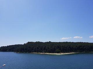 Carril vistas a Illa Cortegada