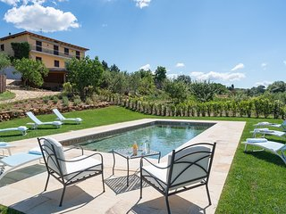 6 bedroom Villa in Bassetti, Tuscany, Italy : ref 5605488