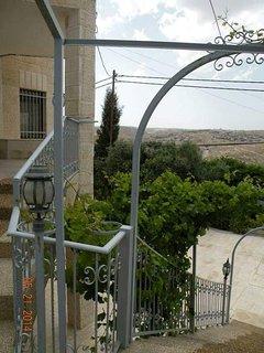 Views of Bethlehem front front Veranda.