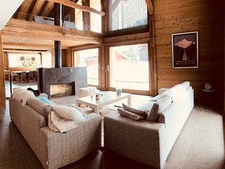 Luxury chalet, 100m from the slopes