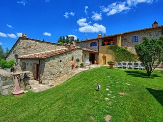 6 bedroom Villa in Madonna di Pietracupa, Tuscany, Italy : ref 5644231