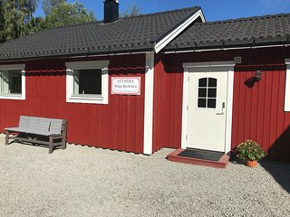 Cosy cottage Backnära, right by the bikepark and skislope in Järvsö