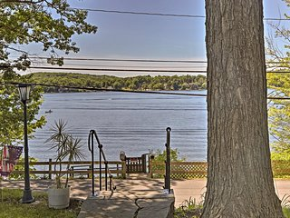 NEW! Waterfront Cottage on Copake Lake w/ Dock!