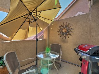NEW! Modern Gilbert Condo w/ Pool Access & Patio!