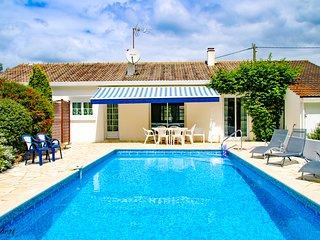 Gîte Le Fief du Coubraud avec piscine privée chauffée