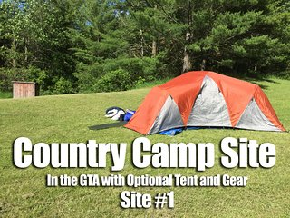 Camp Site in the GTA w/ Optional Tent / Gear - 1